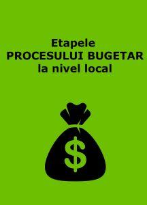 Book Cover: Etapele PROCESULUI BUGETAR la nivel local
