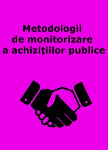 Book Cover: Metodologii de monitorizare a achizițiilor publice