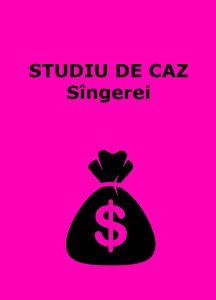 Book Cover: Studiu de caz, buget Sîngerei